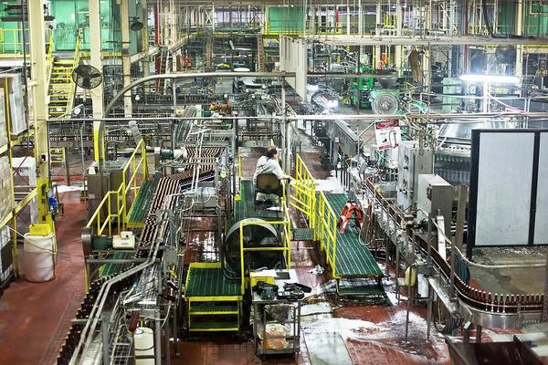 Technological Wall Art - Photograph - Yuengling Brewery by Jim West