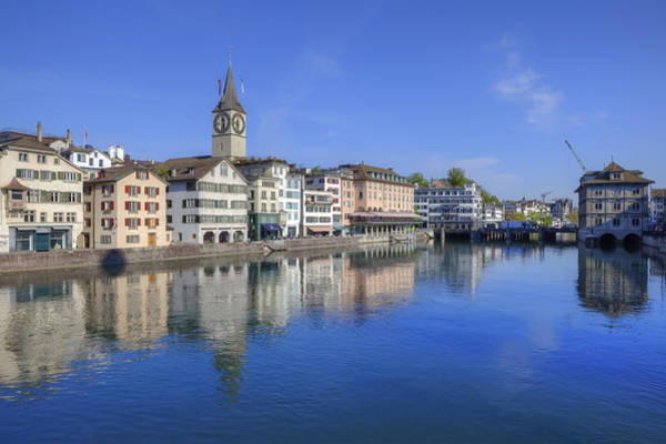Rathaus Photograph - Zurich by Joana Kruse