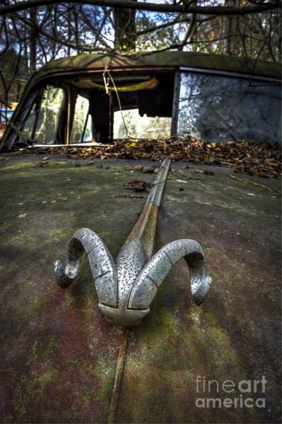Photograph - 50s Dodge Ram Ornament by Ken Johnson