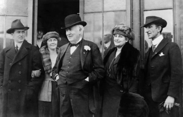 Photograph - Thomas Edison (1847-1931) by Granger