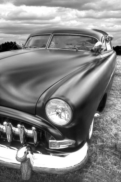 1952 Hudson Hornet Photograph - 52 Hudson Pacemaker Coupe Vertical by Gill Billington