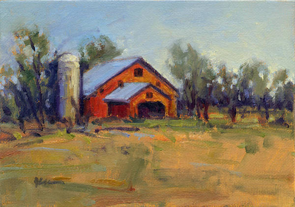 Painting - Afternoon At The Ranch 4 by Konnie Kim