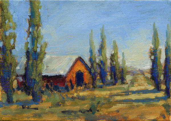 Painting - Afternoon At The Ranch by Konnie Kim