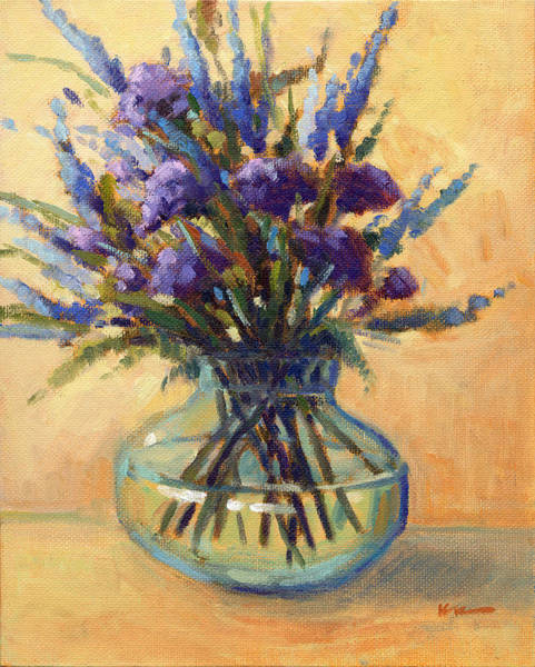 Painting - Summer Bouquet 3 by Konnie Kim