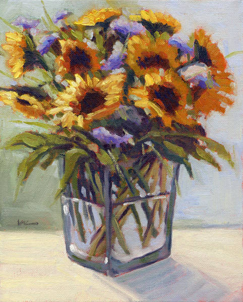 Painting - Summer Bouquet 4 by Konnie Kim