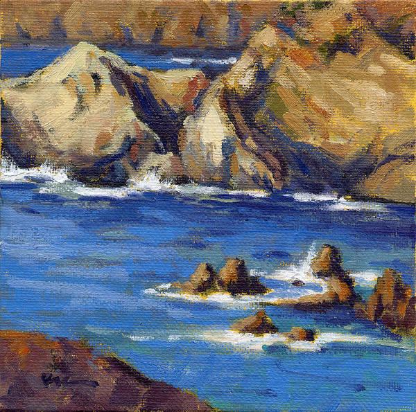 Painting - Coastal Cruising 4  by Konnie Kim
