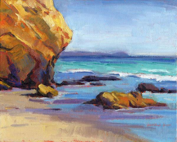 Painting - Coastal Cruising 5  by Konnie Kim