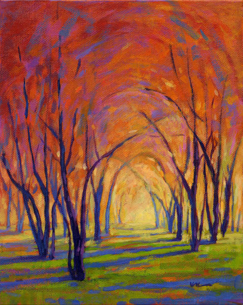 Painting - Colors Of Fall by Konnie Kim