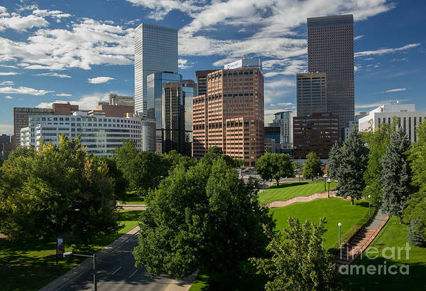 Mile High City Photograph - 5280 Feet Above Sea Level - The Mile High City by Bridget Calip
