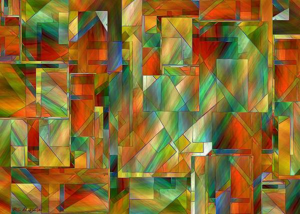 Painting - 53 Doors by RC DeWinter