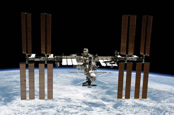 Iss Photograph - International Space Station by Nasa/science Photo Library