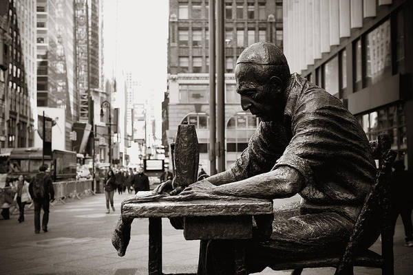 Photograph - New York City by Songquan Deng