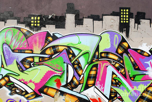Wall Art - Photograph - Graffiti by Luis Alvarenga