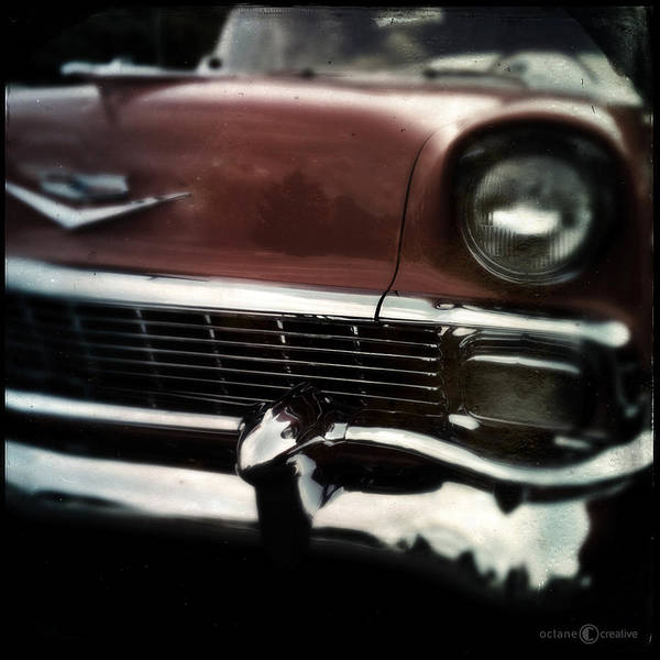 Photograph - 56 Chev Belair by Tim Nyberg