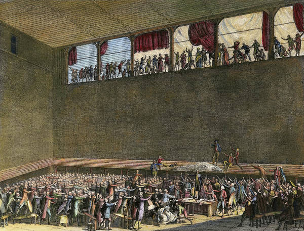 Wall Art - Painting - French Revolution, 1789 by Granger