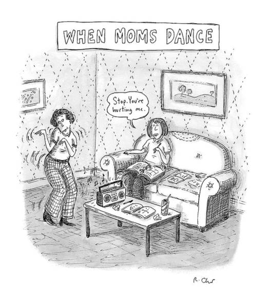 Wall Art - Drawing - New Yorker September 11th, 2006 by Roz Chast