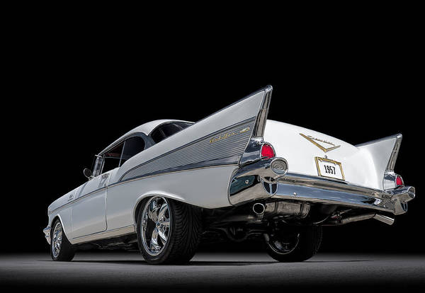 Wall Art - Digital Art - '57 Bel Air by Douglas Pittman
