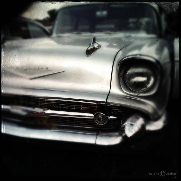 Photograph - 57 Chev Belair by Tim Nyberg