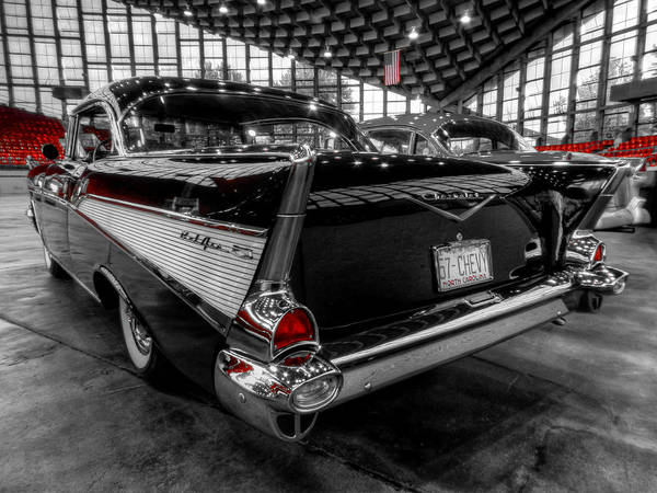 Photograph - '57 Chevy Bel Air 001 by Lance Vaughn