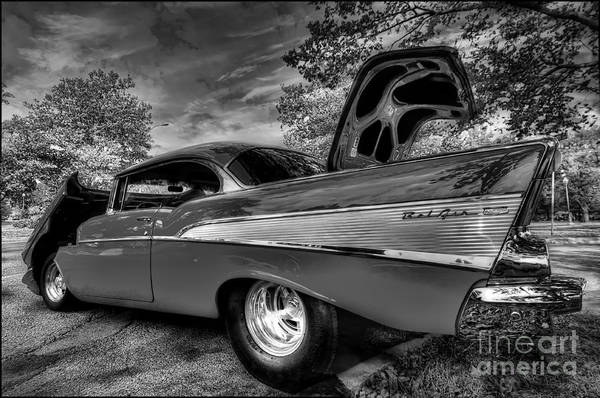Clear Coat Wall Art - Photograph - 57 Chevy Bel Air by Liane Wright