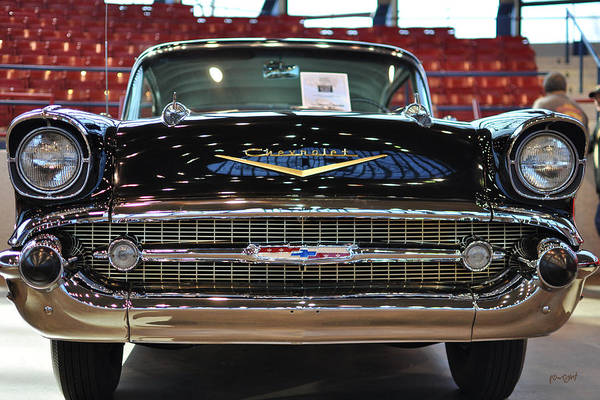 Photograph - '57 Chevy Bel Air Show Car by Paulette B Wright