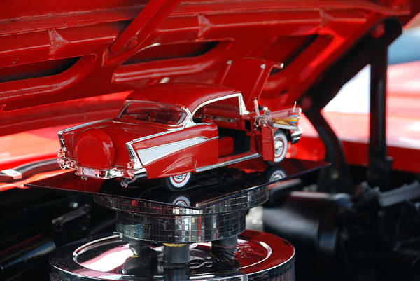 Photograph - '57 Chevy Bel Air by Beverly Stapleton