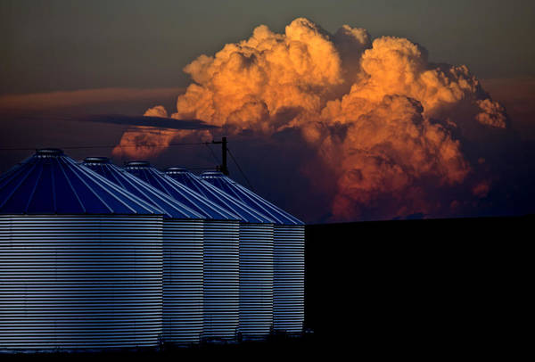 Wall Art - Photograph - Prairie Storm Clouds by Mark Duffy