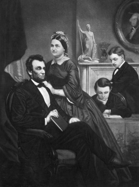 Bryan Painting - Abraham Lincoln (1809-1865) by Granger