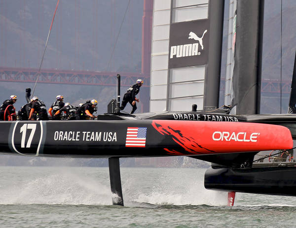 Photograph - America's Cup 34 by Steven Lapkin