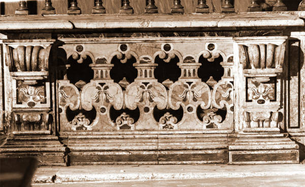 Wall Art - Photograph - Abruzzo, Laquila, Pescocostanzo, Basilica by Litz Collection