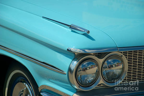 Photograph - 59 Pontiac Catalina Hood Ornament by Mark Dodd