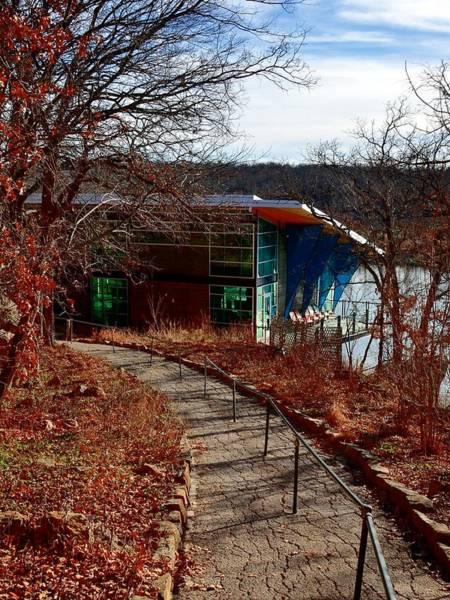 Photograph - 5932 Lake Murray Visitors Center by Ricardo J Ruiz de Porras