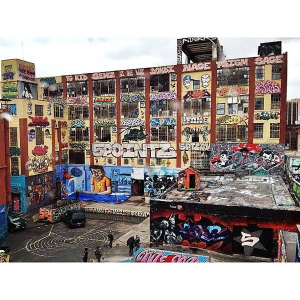 Queens Wall Art - Photograph - #5pointz #graffiti #streetart #queens by Blaine Prickett