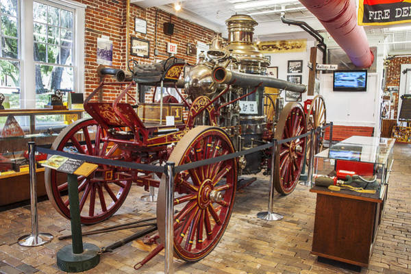 Photograph - 1911 Lafrance Steam Powered Fire Engine by Rich Franco
