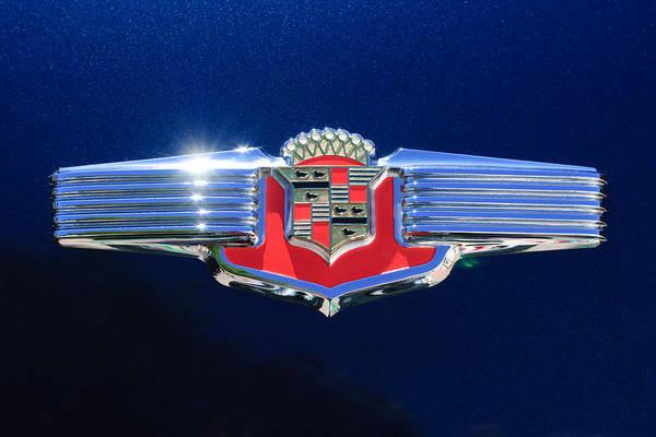 Cadillac Photograph - 1941 Cadillac Emblem by Jill Reger