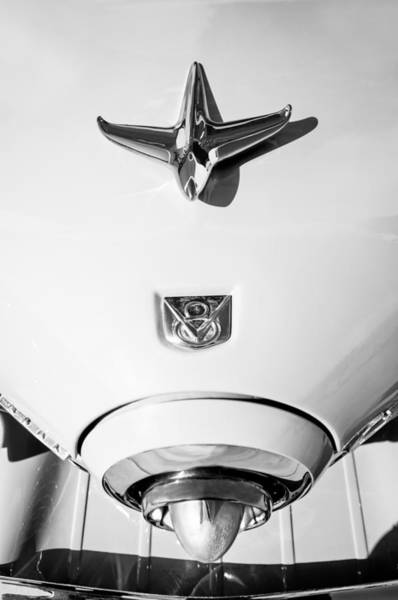 Photograph - 1951 Studebaker Commander Hood Ornament by Jill Reger