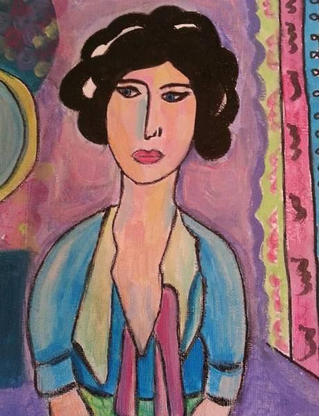 Painting - A Lady by Nikki Dalton