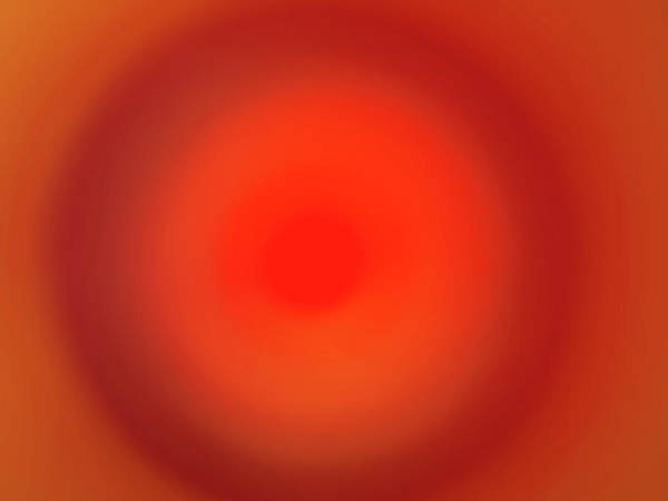 Horizontal Abstract Photograph - Abstract Of The Color Paint by Level1studio