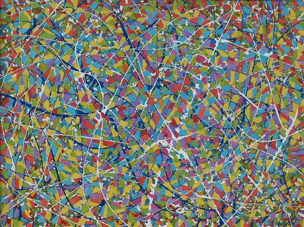 Wall Art - Painting - Abstraction by Josip Rubes