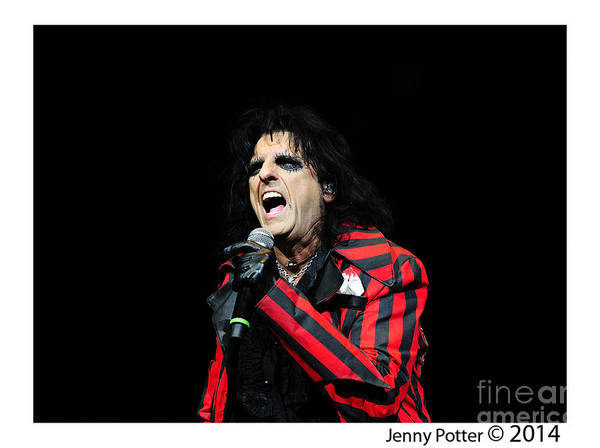 Alice Cooper Photograph - Alice Cooper by Jenny Potter