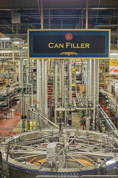 Wall Art - Photograph - Anheuser-busch Brewery by Jim West/science Photo Library