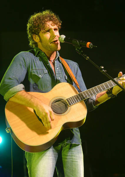 Starstruck Studios Wall Art - Photograph - Billy Currington by Don Olea