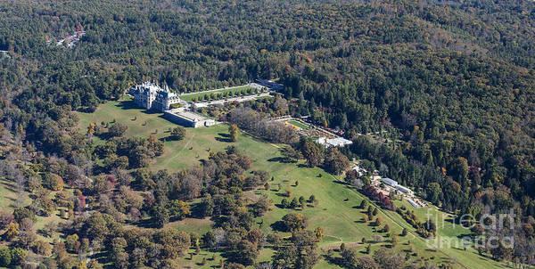 Richard Morris Hunt Wall Art - Photograph - Biltmore Estate Aerial Photo by David Oppenheimer