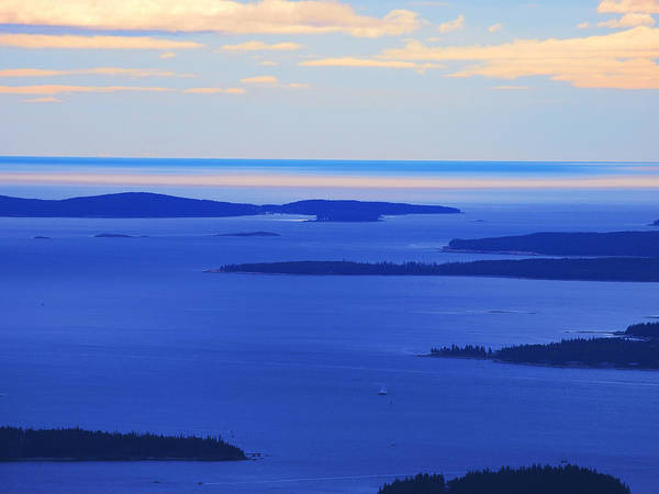 Wall Art - Photograph - Bird's-eye View From Cadillac Mountain Acadia National Park by Paul Ge