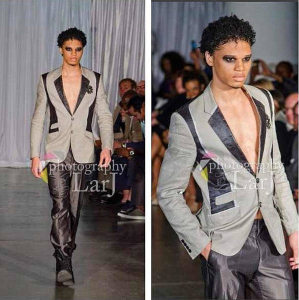 Clothing Design Mixed Media - Blazer by Daft Minerva