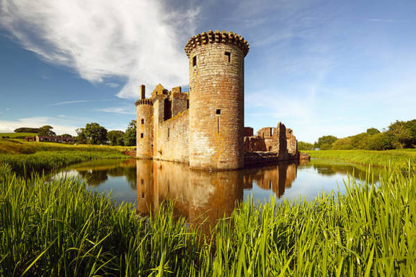 Wall Art - Photograph - Caerlaverock Castle by Grant Glendinning