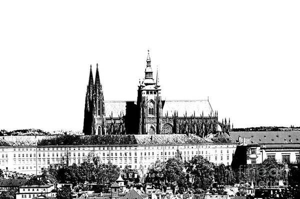 Czech Digital Art - Cathedral Of St Vitus by Michal Boubin