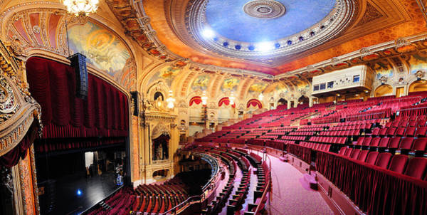 Wall Art - Photograph - Chicago Theatre by Songquan Deng