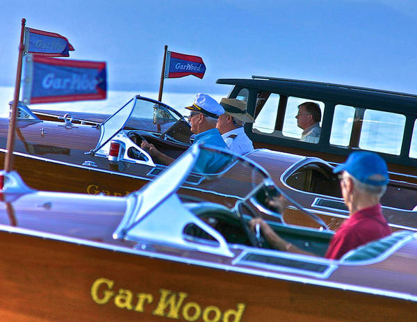 Photograph - Classic Gar Wood by Steven Lapkin