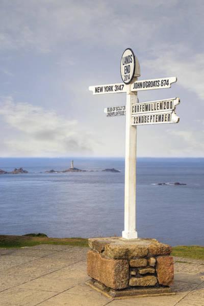 Penwith Photograph - Cornwall - Land's End by Joana Kruse